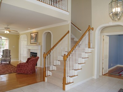Open Staircases On The Double Open Stairway Stair Treads With Both Ends Open