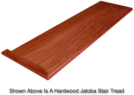Exotic Hardwood Stair Treads