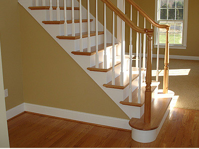 Lovely Traditional White Balusters U0026 Newels   Photo #3