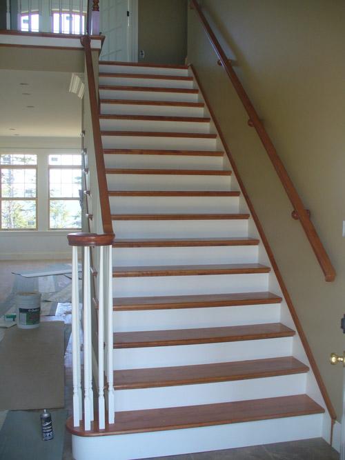 Volute Rail Fitting U0026 Volute Starting Tread Staircase   Photo #2