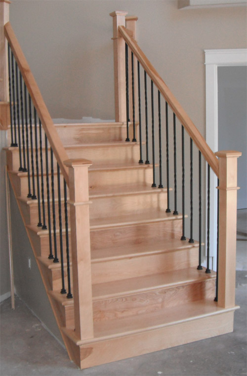 how to build a railing with spindles