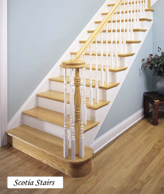 Hampton Fluted Post U0026 Fluted White Balusters   Picture #7