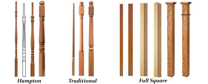 Hardwood Balusters For... Pic Source