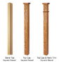Craftsman newel posts from a quality stair part supplier