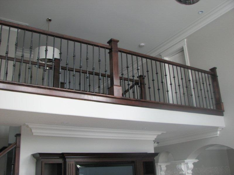 Hammered Spoon Metal Balusters Scotia Stairs Ltd