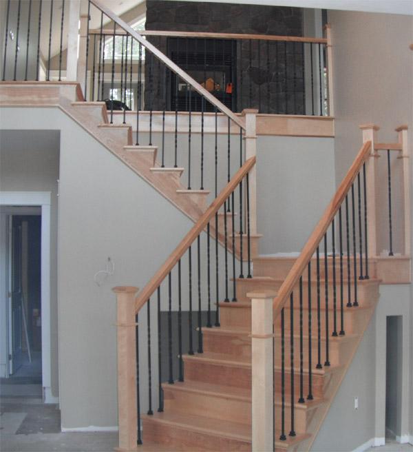 Plain Amp Twist Metal Balusters Scotia Stairs Ltd