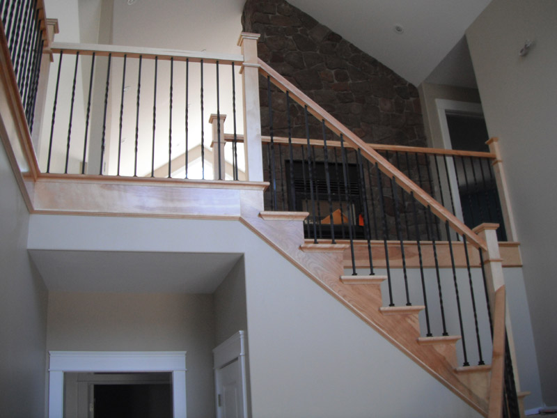 Plain Twist Metal Balusters Scotia Stairs Ltd