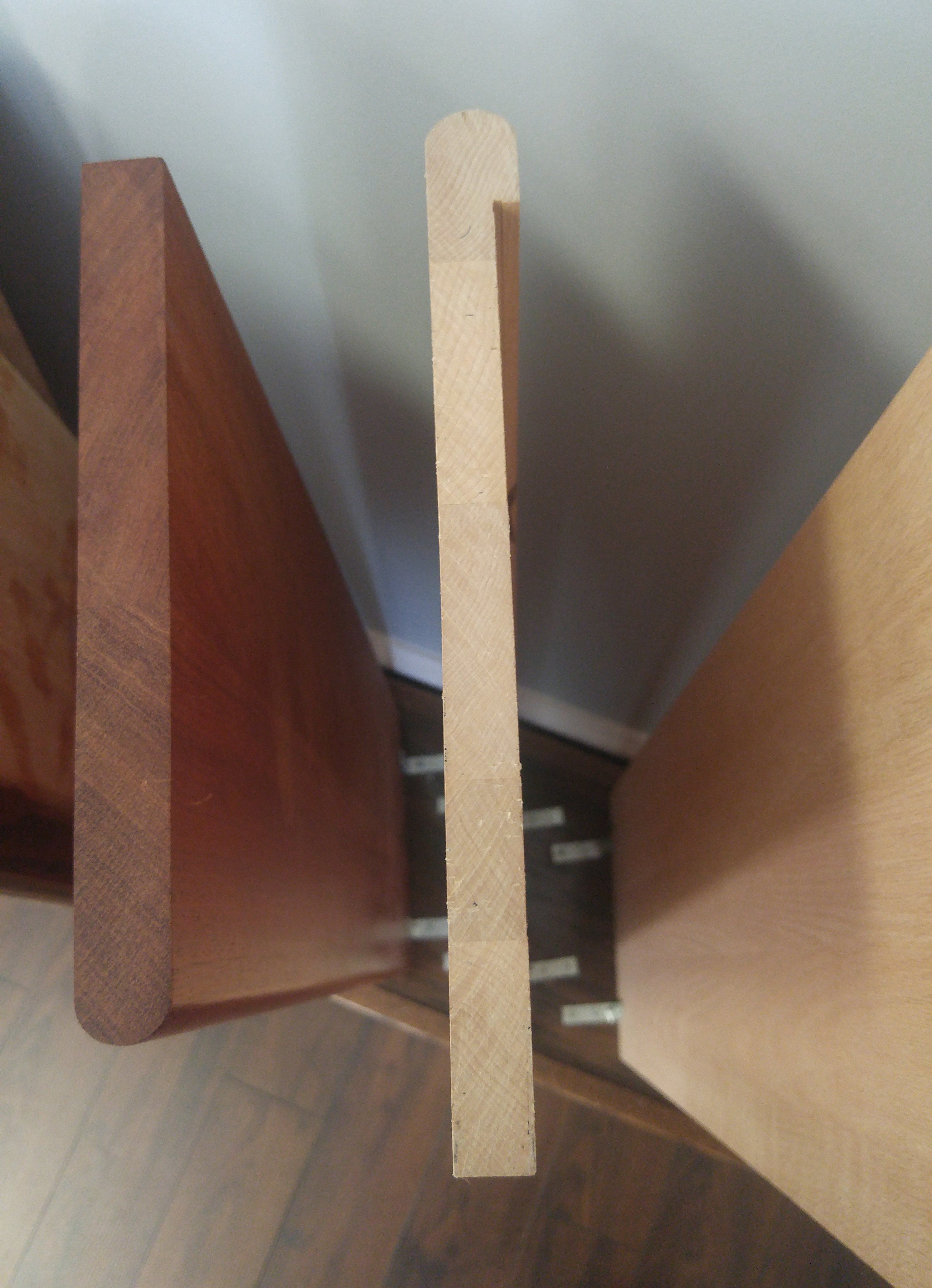 Charmant Stair Cap Compared To Stair Tread