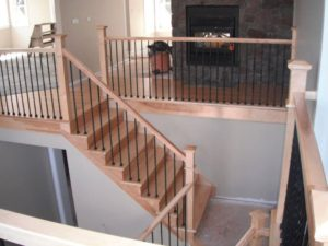 New Construction Staircase installed by Scotia Stairs Limited