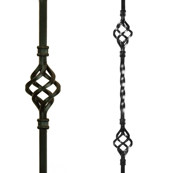 Basket Metal Balusters