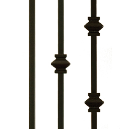 Plain and Single-Double Knuckle Metal Balusters