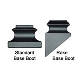 metal baluster base boots