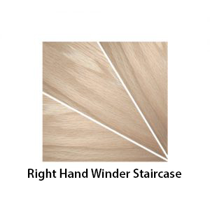right hand winder staircase shown - a270