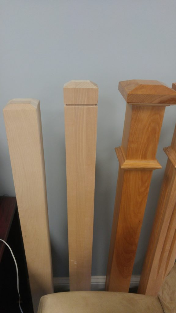 Craftsman Square Newel Posts Scotia Stairs Ltd