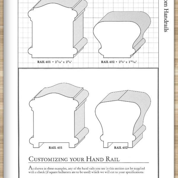 custom hand rail styles