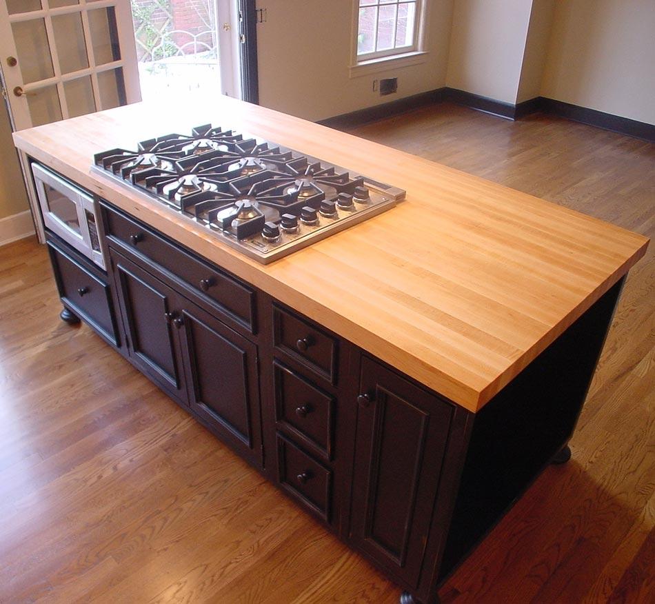 Luxury Butcher Block Countertops With Edge Grain Style