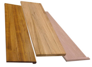 Solid Wood Stair Treads - Oak, Maple, Birch, Ash and Custom Treads
