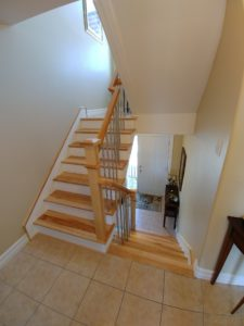 Solid Hardwood Stair Treads